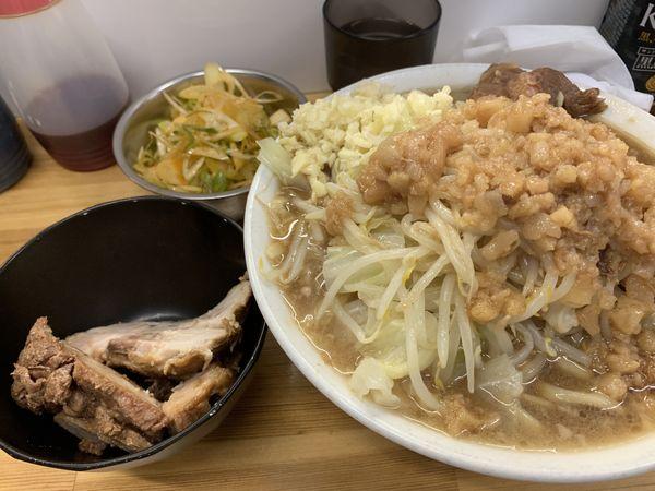 「豚ラーメン + 辛ネギ 1100円」@ラーメン荘 夢を語れ Yume Wo Katare Tokyoの写真