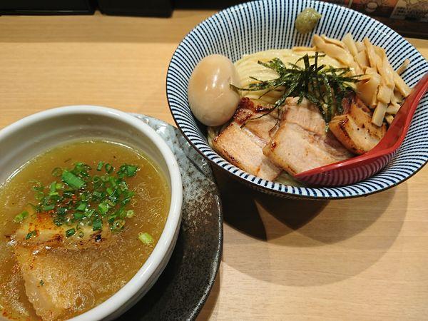 「スペシャル塩つけ麺(1040円)」@塩つけ麺 灯花の写真