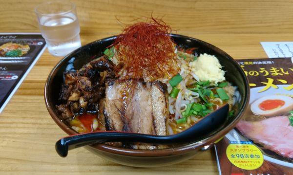 「辛二郎 とろり ニンニクショウガ」@中華麺酒家 からっ風の写真