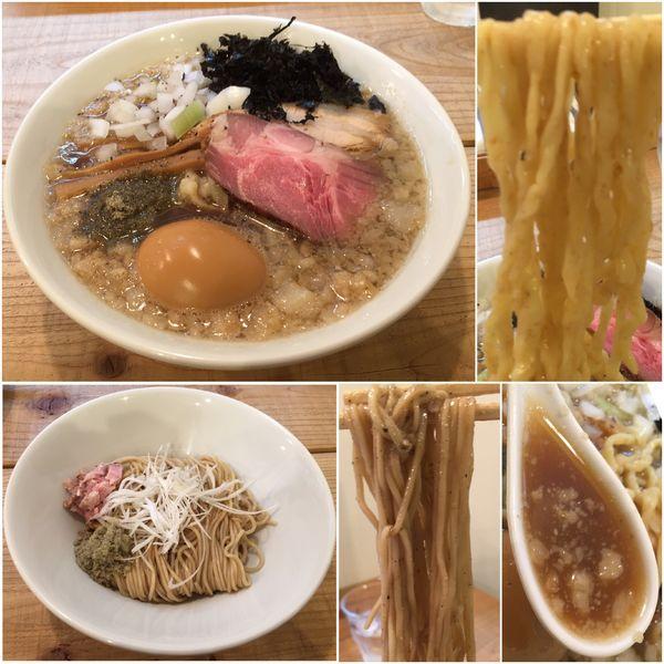 「Swallowらぁ麺+味玉+和え玉(いしるVer.)」@The Noodles & Saloon Kiriyaの写真