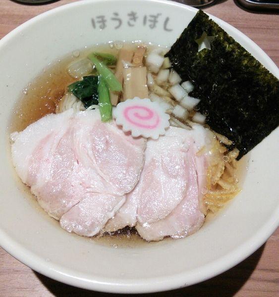 「究極の冷やし醤油らーめん 800円」@ほうきぼし 関内セルテ店の写真