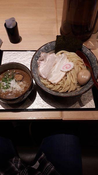 「特製濃厚つけ麺」@中華そば 葵 ララガーデン川口店の写真
