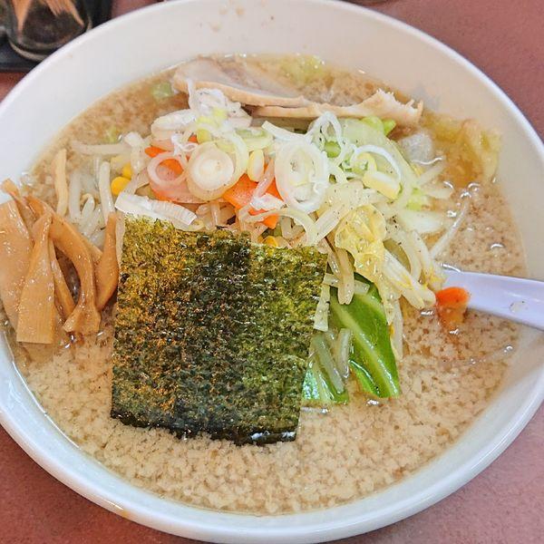 「ハッスル野菜ラーメン810 サービスランチ100」@ハッスルラーメンホンマ 錦糸町店の写真