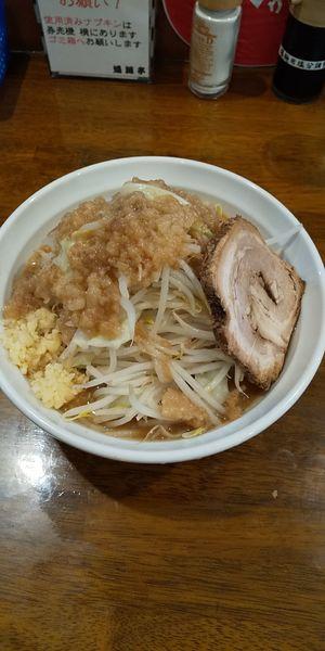 「爆麺 中」@爆麺亭 所沢店の写真