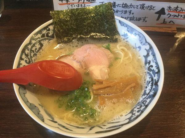 「鶏白湯そば+海老辛(¥790+サービス)」@中華そば 東京ぐれっちの写真