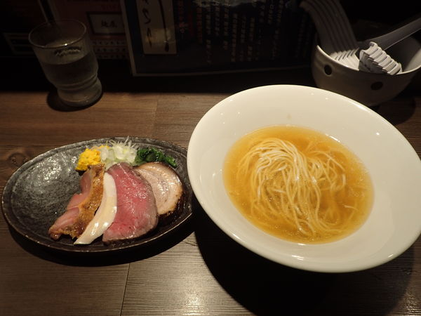 「4周年記念限定 山形地鶏とキジーン3号」@つけ麺 一燈の写真