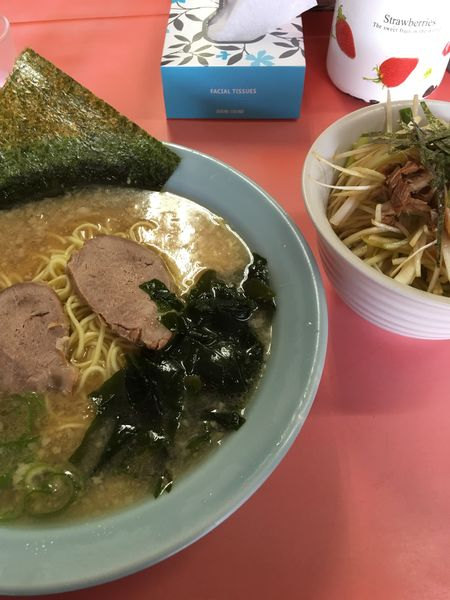 「ネギ丼セット」@ラーメンショップ 愛川店の写真