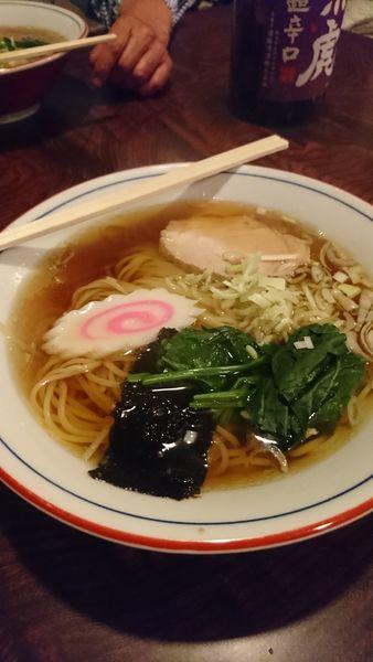 「ラーメン」@根ぎし食堂の写真