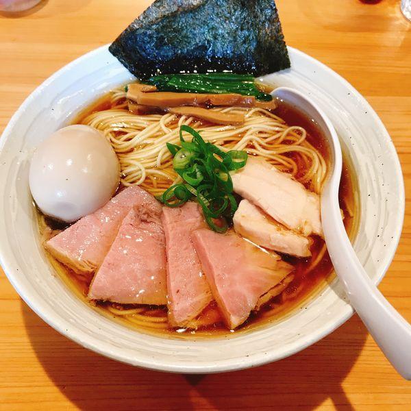 「特製らー麺(醤油)」@麺屋 さくら井の写真