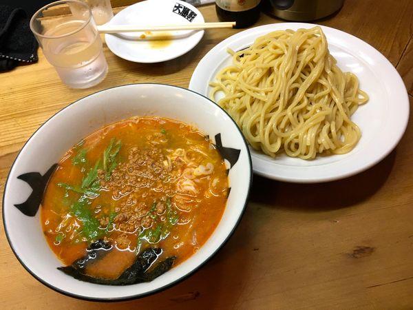 「キリン一番搾り生小瓶 → つけ担々麺」@中野大勝軒の写真