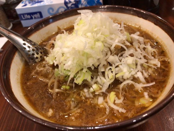 「濃厚味噌ラーメン」@横浜らーめん 田村家 足利店の写真