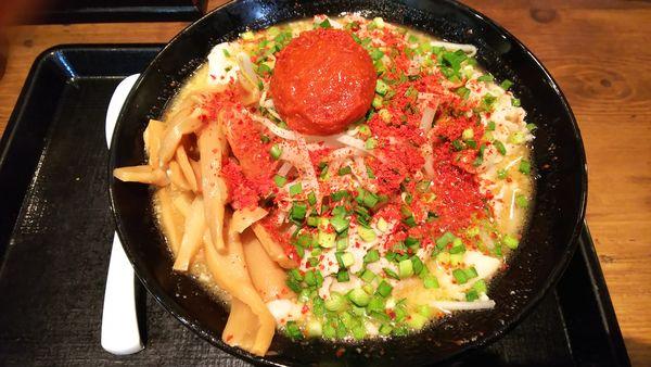 「ドラゴン味噌肉ラーメン 840円」@北海道らぁめん 伝丸 1国四日市三ツ谷店の写真