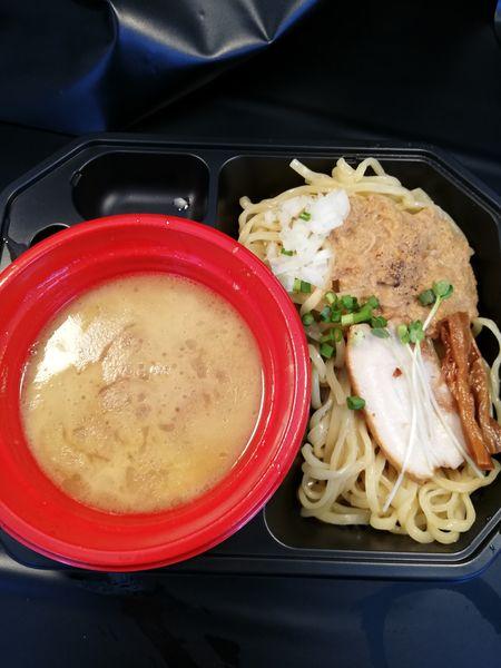 「℃濃厚帆立ソースの鶏つけ麺」@大つけ麺博 美味しいラーメン集まりすぎ祭の写真