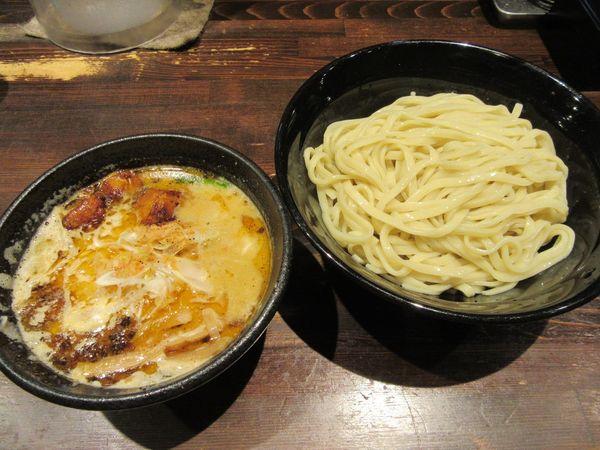 「海老香味つけ麺大盛(950円)」@麺や 蒼 AOIの写真