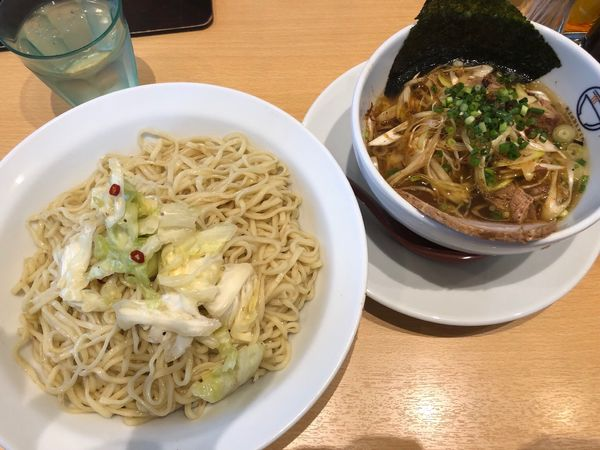 「塩つけ麺ネギトッピ」@らぁ麺食堂 吉凛の写真