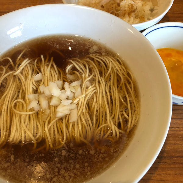「かけ 300円 たまごかけご飯 150円」@麺&cafe Coi.Coi.の写真