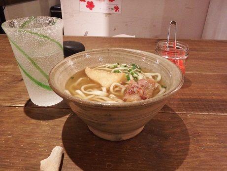 「ソーキそば ハーフサイズ」@沖縄料理 新風の写真