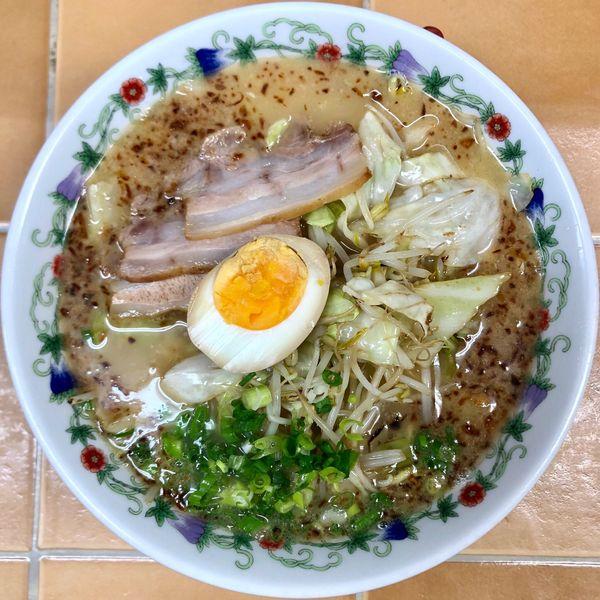 「野菜炒めラーメン (750円)」@ラーメン イーグルの写真