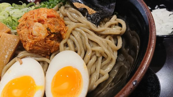 「特製煮干しまぜそば」@極煮干し本舗 東松山店の写真