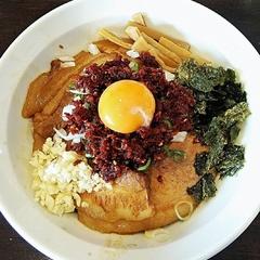 ラーメン 月麺の写真
