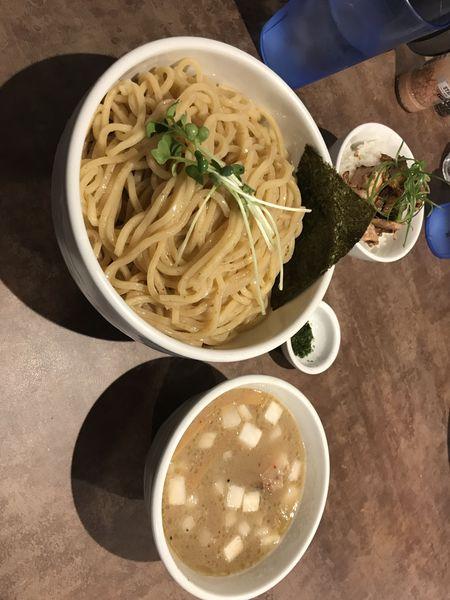 「濃厚ホタテ つけ麺大盛り」@NOODLE VOICEの写真