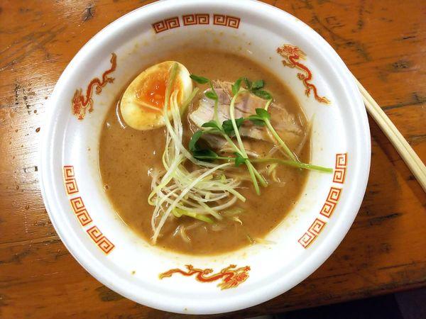 「【麦の道すぐれ】伊勢海老の味噌らーめん 870円」@大つけ麺博 美味しいラーメン集まりすぎ祭の写真