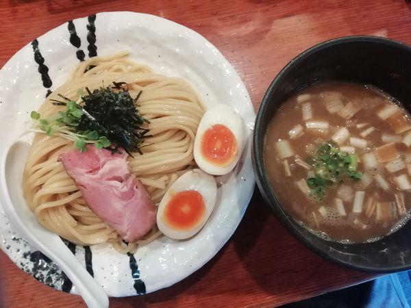 「豚骨魚介味玉つけ麺(並)」@麺処 ほん田の写真