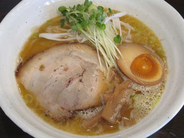 「海老鶏白湯ラーメン(800円)」@麺処GAKUの写真
