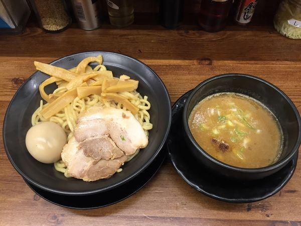 「魚介つけ麺SP」@横浜家系ラーメン 駒込家の写真