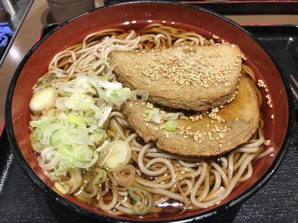 「宇和島産じゃこ天そば 特盛  750円」@SOBA DINING 凛や 池袋店の写真