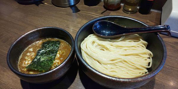 「つけ麺 中太麺大盛300g」@麺屋 一路の写真
