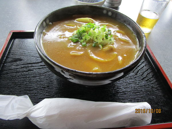 「カレー南蛮蕎麦 700円」@信州の写真