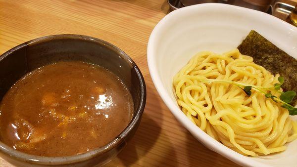 「豚骨魚介つけ麺800円」@常陸 景虎の写真