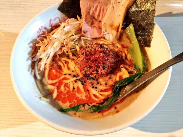 「期間限定 海老塩担々麺」@麺や 堂幻の写真