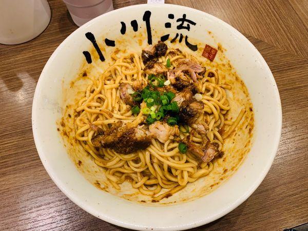 「限定:XO醤で仕上げた油そば」@つけ麺 小川流 多摩貝取店の写真