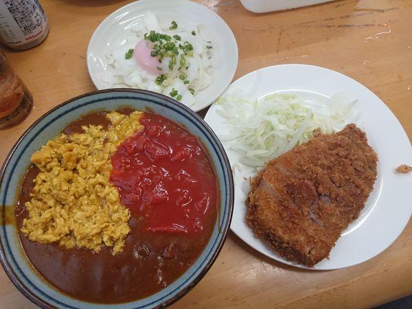 「【10月限定】キーマ風カレーS(ビーフカツ ランクアップ)他」@MENYA 食い味の道有楽の写真