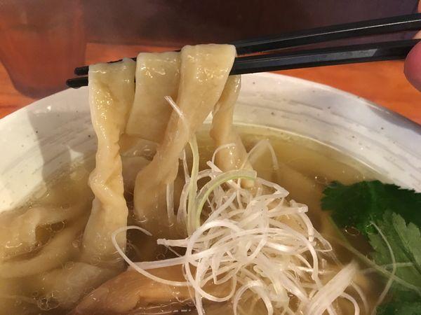 「塩らーめん」@純手打ち 麺と未来の写真