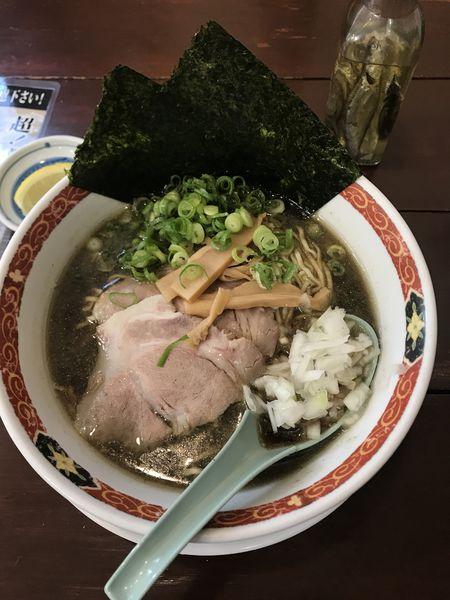 「超!煮干しラーメン」@尾道ラーメン 丸ぼしの写真