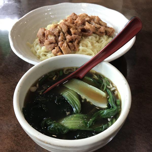 「排骨つけ麺(¥880)」@中華料理 万福 蒲田店の写真