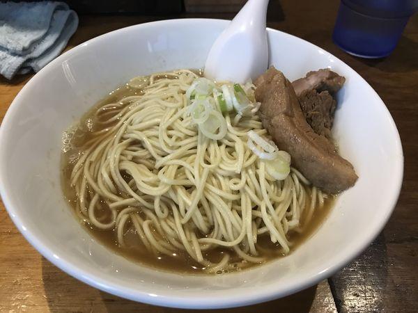 「比内鶏肉そば中 900円」@自家製麺 伊藤の写真