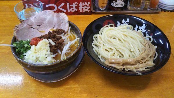 「(限定)こく旨福来味噌つけ麺 中盛」@らーめん逆流の写真