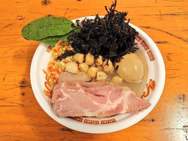 「【SALT AIR】はまぐり・あさり・帆立の貝だし三重奏」@大つけ麺博 美味しいラーメン集まりすぎ祭の写真