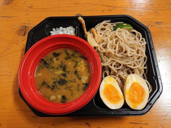 「【麺匠たか松】つけ麺(鶏魚介)+味玉」@大つけ麺博 美味しいラーメン集まりすぎ祭の写真