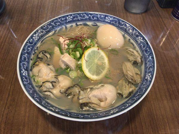 「牡蠣そば 特製 1,160円」@寿製麺よしかわ 保谷店の写真