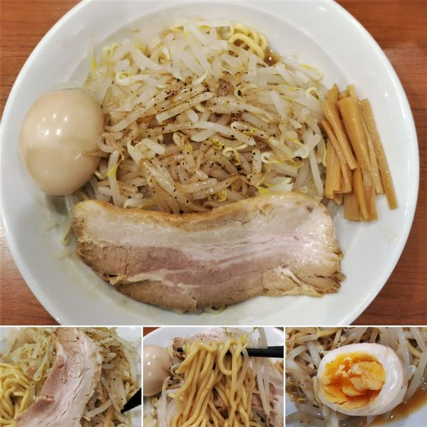 「まぜそば+味玉=850円」@中華そば 七麺鳥の写真
