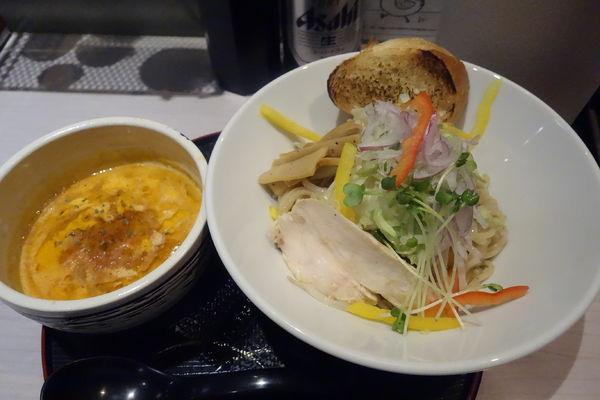 「【限定】オマール海老のビスク風つけ麺」@味噌らーめん専門店 味噌三礎の写真