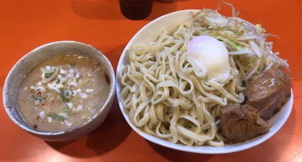 「つけ麺 醤油 特盛 チーズ」@ちばからの写真