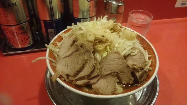 「大豚(ヤサイアブラ塊)¥950」@ラーメンタロー 大森の陣の写真