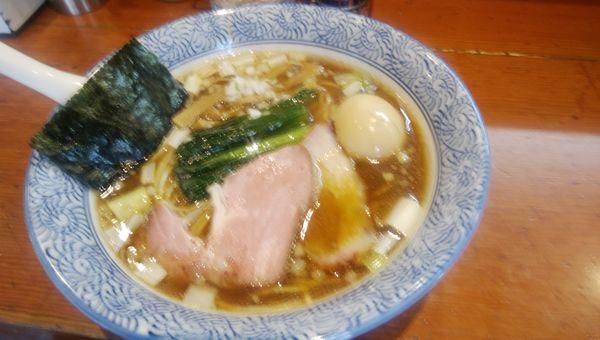 「手揉み中華蕎麦味玉」@麺処 ほん田の写真