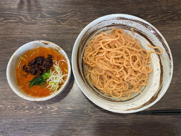 「胡麻味噌担々つけ麺 900円」@まるのの写真